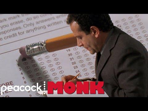 Monk Takes the Police Reinstatement Test   Monk
