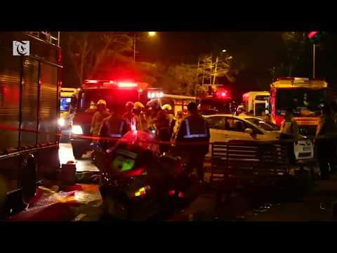 At least 18 dead in Hong Kong bus accident - 동영상