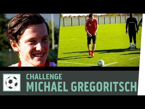 Freistoß-Challenge vs. Michael Gregoritsch |FC Augsburg | Fußball-Challenge | Kickbox