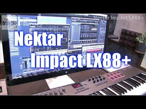Nektar Impact LX88+ Demo & Review [English Captions]