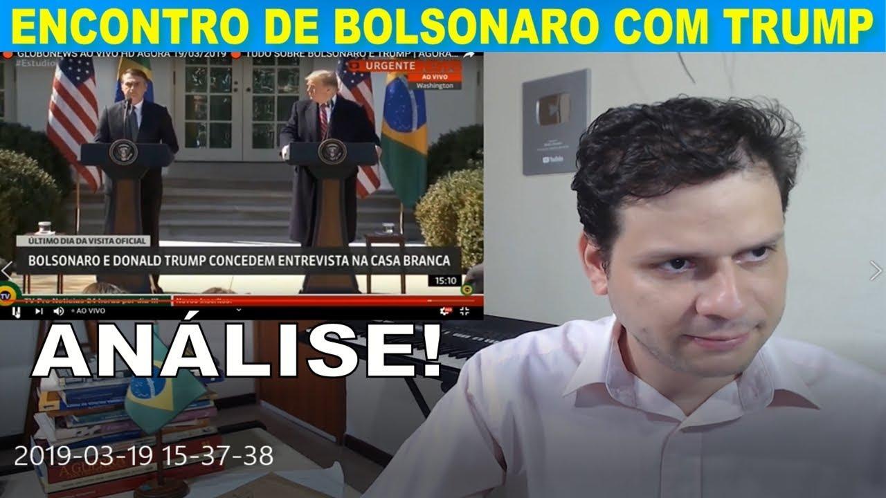 Análise: Encontro de Bolsonaro com Donald Trump / Intervenção na Venezuela