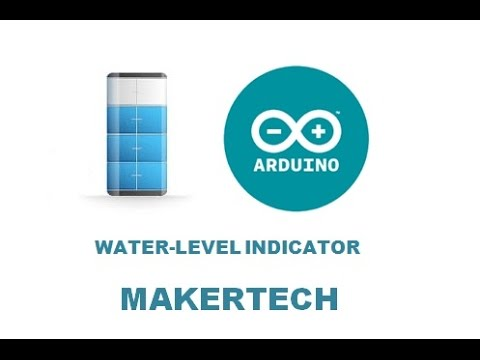 waterlevel indicator using arduino