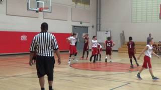 2017 TYBL Cavs vs. Clippers 5th grade Division