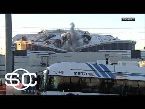 See Georgia Dome Imploded!