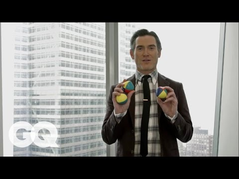 Billy Crudup Teaches You How to Juggle  GQ