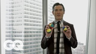 Billy Crudup Teaches You How to Juggle | GQ