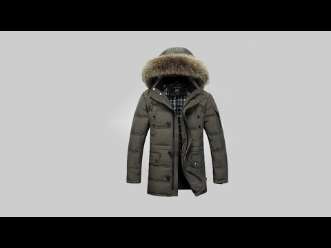 видео: Не плохой мужской пуховик | men's down jacket aliexpress