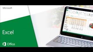 видео Вводный курс Excel
