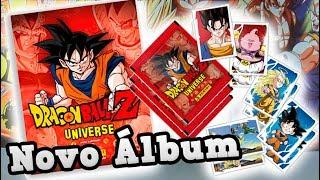 Unboxing X - Álbum Dragon Ball Z Universe