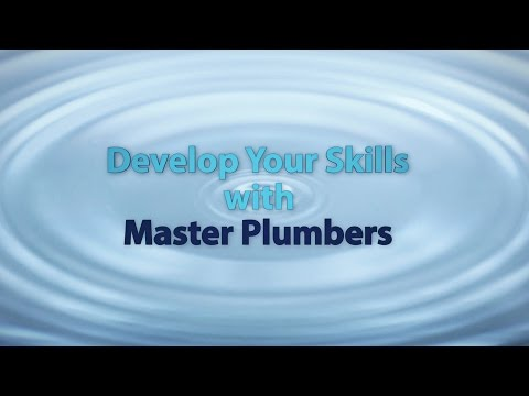 Develop Your Skills with Master Plumbers