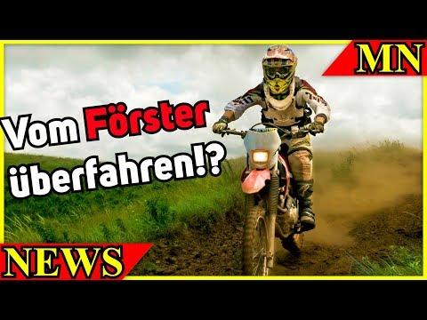 Förster überfährt Motorradfahrer!?