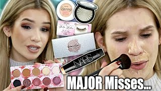 Testing Popular NEW Makeup! HIT OR MISS FIRST IMPRESSIONS