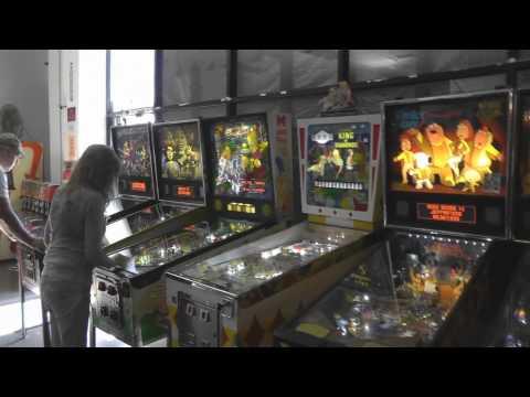 Pinball Hall of Fame Las Vegas 2014 Walkthrough Tour!
