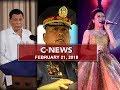 UNTV: C-News (February 21, 2018)