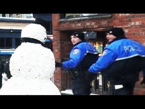 Scary Snowman Prank  2011 Full Season (38Minutes)