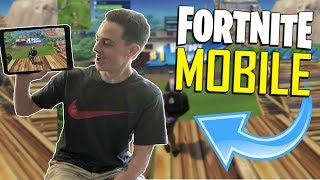 FAST MOBILE BUILDER on iOS / 165+ Wins / Fortnite Mobile + Tips & Tricks!