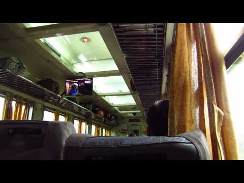 Vietnam - Train Ride - Route from Hanoi to Hue - Vietnamese television - November 24th, 2013