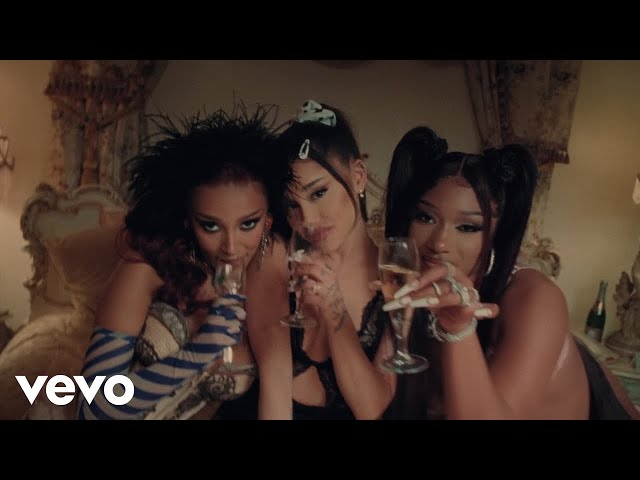Ariana Grande - 34+35 Remix (feat. Doja Cat and Megan Thee Stallion) (Official Video)