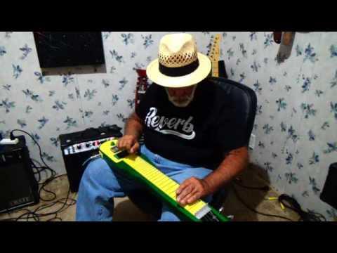John Deere Green Lap Steel Guitar