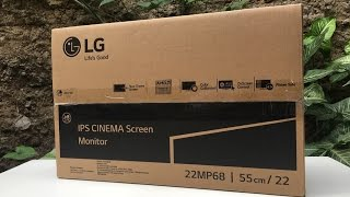 [Unboxing] LG 22MP68VQ