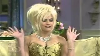 Anna Nicole Smith The Sharon Osbourne Show