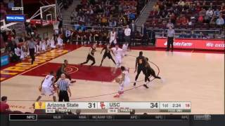 Men's Basketball: USC 82, ASU 79 - Highlights 1/22/17