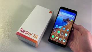 Обзор Xiaomi Redmi 7A 2/32GB