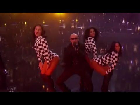 Pitbull (ft. LunchMoney) Debuts Live NEW Hit GREEN LIGHT | America's Got Talent 2016 Finale