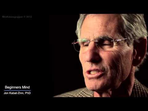 Jon Kabat-Zinn Mindfulness 9 attitudes - beginners mind.