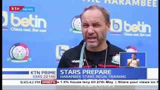 Hambee Stars holds first training ahead of African Cup of Nations