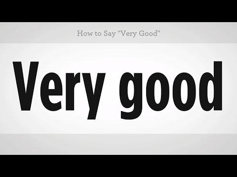 "How to Say ""Very Good"" | Mandarin Chinese"