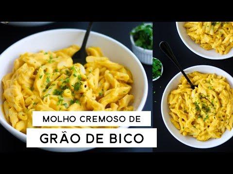 MOLHO CREMOSO DE GRÃO DE BICO - vegano, simples e rápido | PLANTTE