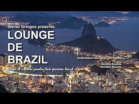 DJ Maretimo - Lounge De Brazil (Full Album) 3 Hours, HD, Cool Beach and Bossa Sounds
