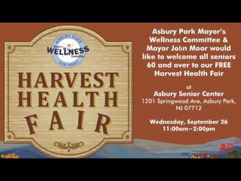 Asbury Park Harvest Health Fair 2018 Promo