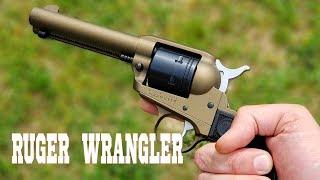ruger wrangler 22lr review