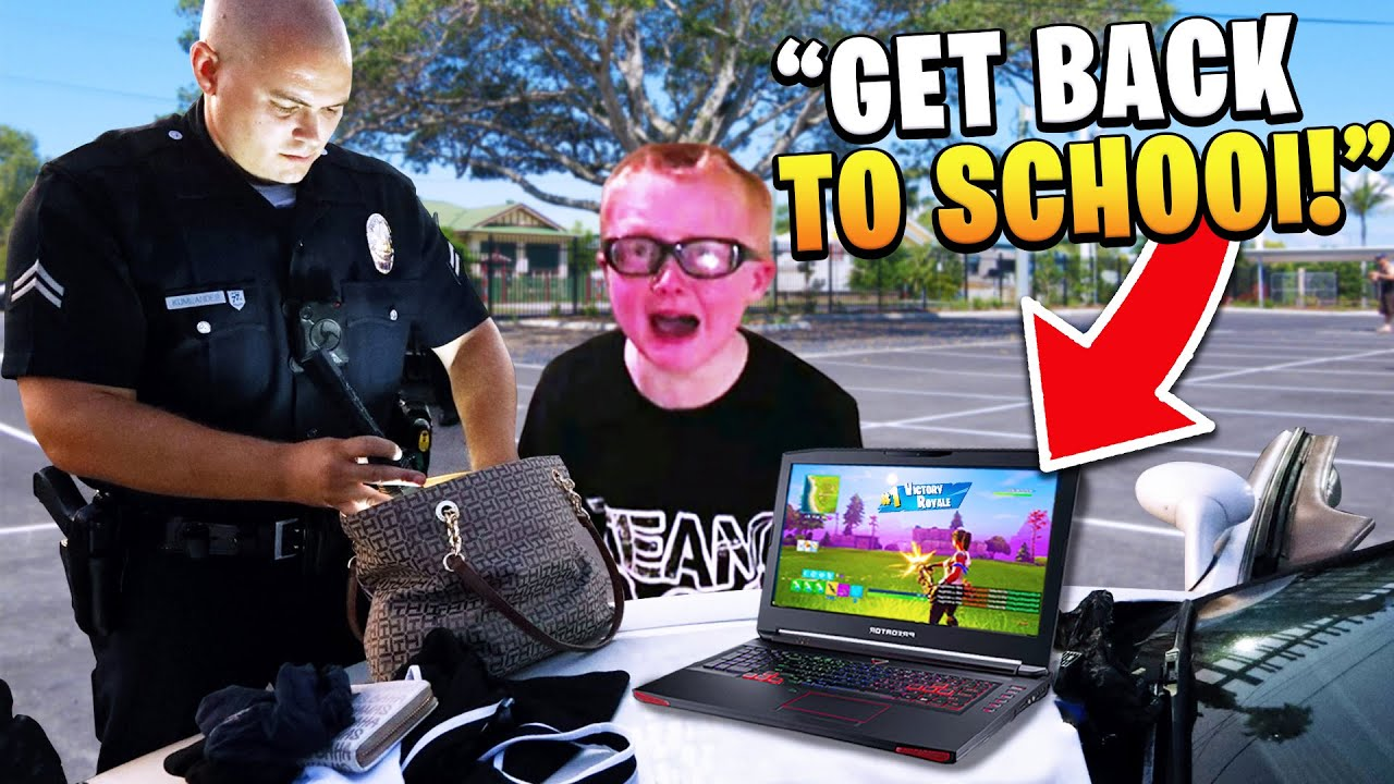 Download Kid gets arrested after playing fortnite in school.. (EXPELLED!)