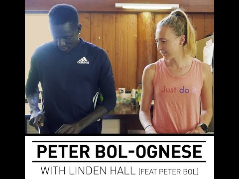 Peter Bolognese - with Linden Hall
