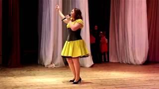 """Музыка"" -  поет Эльмира Хабибулина, Питкяранта, 7 апреля 2018"