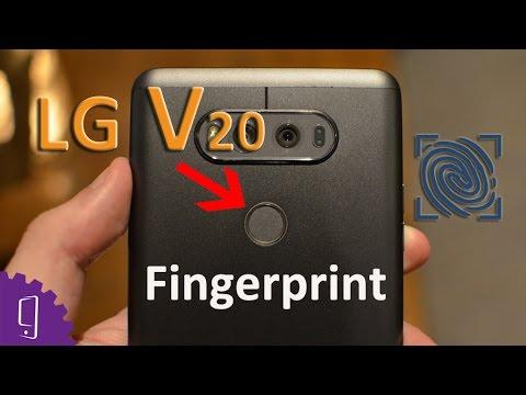 LG V20 Fingerprint Sensor/ Power Button Repair Guide