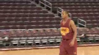 Romeo Miller USC DUNKS (practice footage)