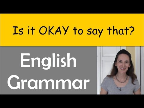Advanced Grammar: Do You Know When It's OK to Break the Rules?