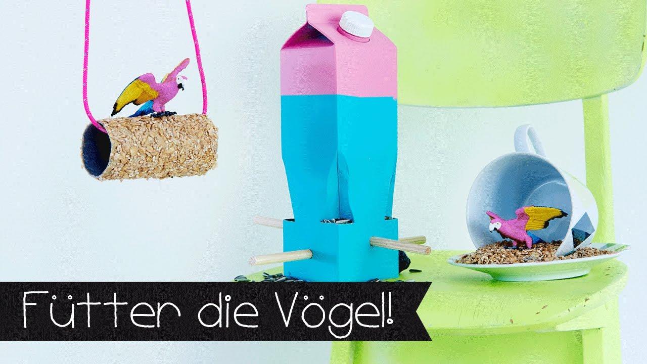 Diy Vogelhauschen Upcycling I Basteln Youtube