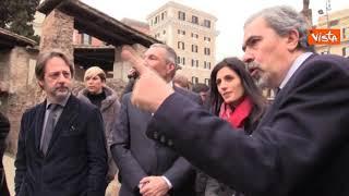 (Agenzia Vista) - Roma, 18 Febbraio 2019 - La sindaca di Roma Virgi...
