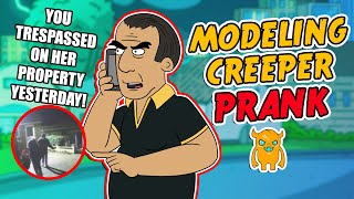 Modeling Creeper Scare Prank (UK/LazyTown) - Ownage Pranks