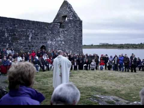 Easter Sunday Dawn Mass At Urlaur Abbey