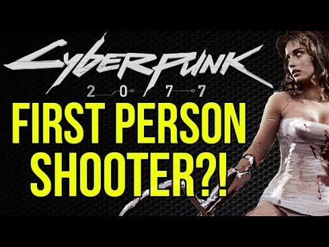 NEW LEAK: Cyberpunk 2077 will be a FPS!