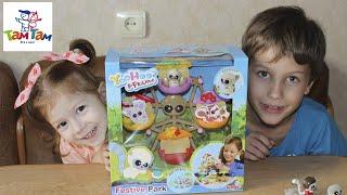 Игровой набор Карусель Юху и его друзья Парк развлечений Toys YooHoo & Friends Festive Park Playset