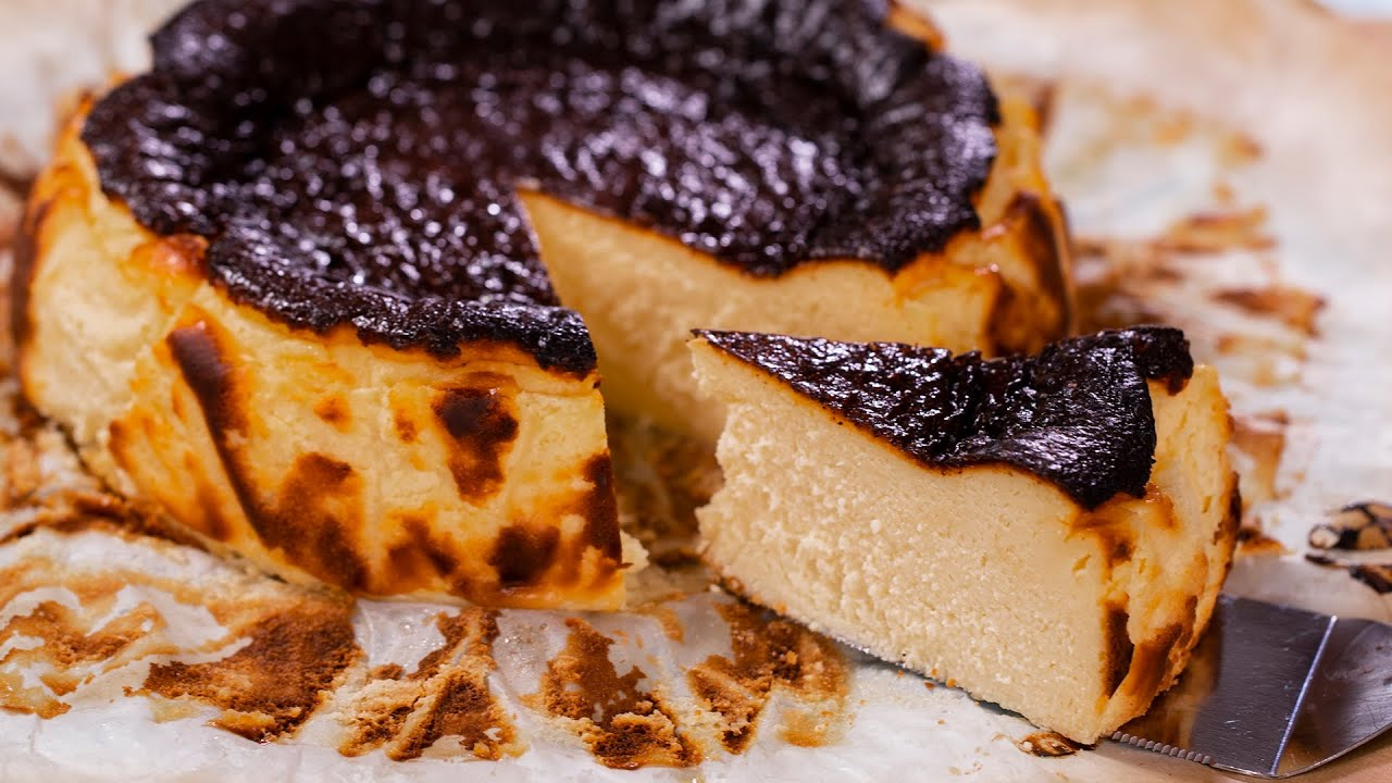 Basque Burnt Cheesecake Youtube
