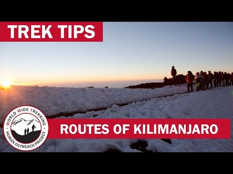 The 7 Routes Up Kilimanjaro & What Makes them Unique | Trek Tips