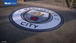 Manchester City launch the new badge